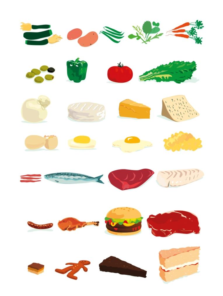food illutration