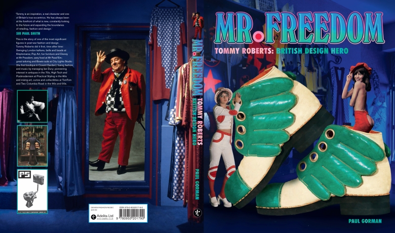 Mr Freedom cover artwork minus flaps.indd
