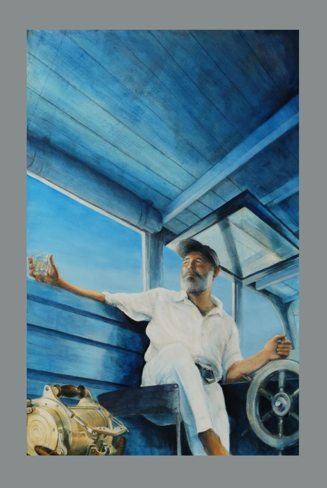 Ernest Hemingway Pilar Gulf stream Sun over the yard arm 1947 sm 060517