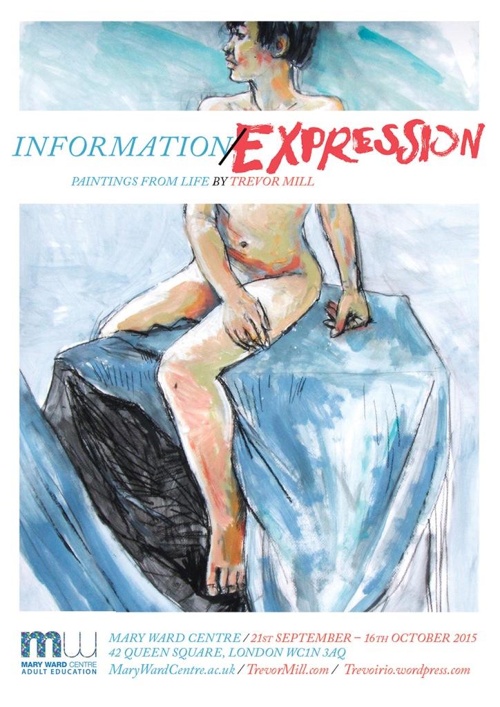 InfoExpression Exhibiton Poster 1